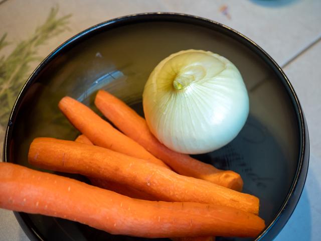 дорадо запеченная в духовке - овощи