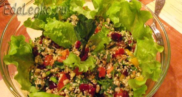 Табуле — оригинальный восточный салат