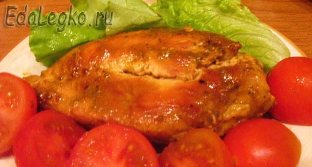 Куриная грудка в соусе. Оригинальный рецепт куриного соуса.