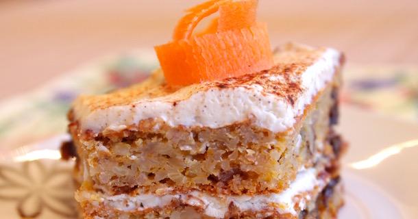 Пирог из моркови